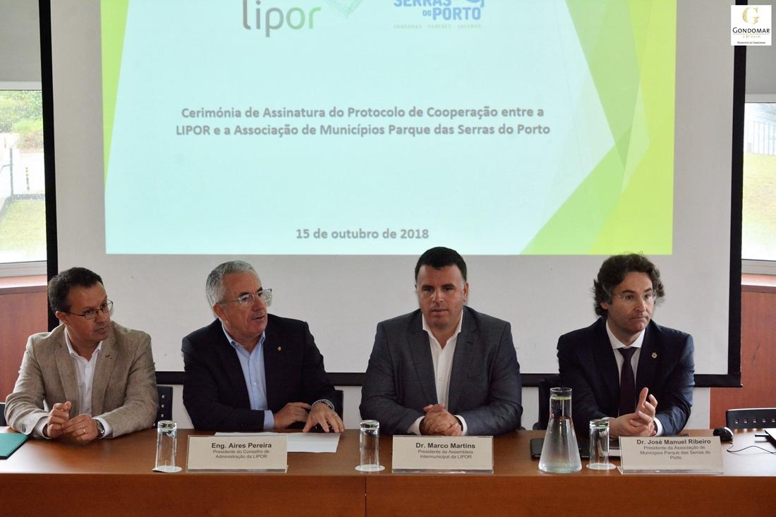 Lipor e Parque das Serras do Porto assinam protocolo de colaboração