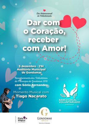Dar com o Coração, receber com Amor!