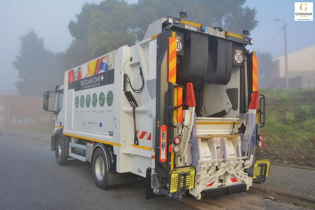 Novo reforço da recolha seletiva de resíduos urbanos