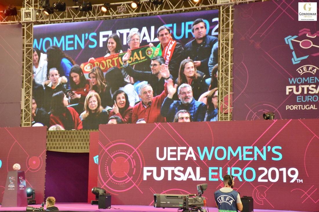 Portugal e Espanha disputam a final do Europeu de futsal