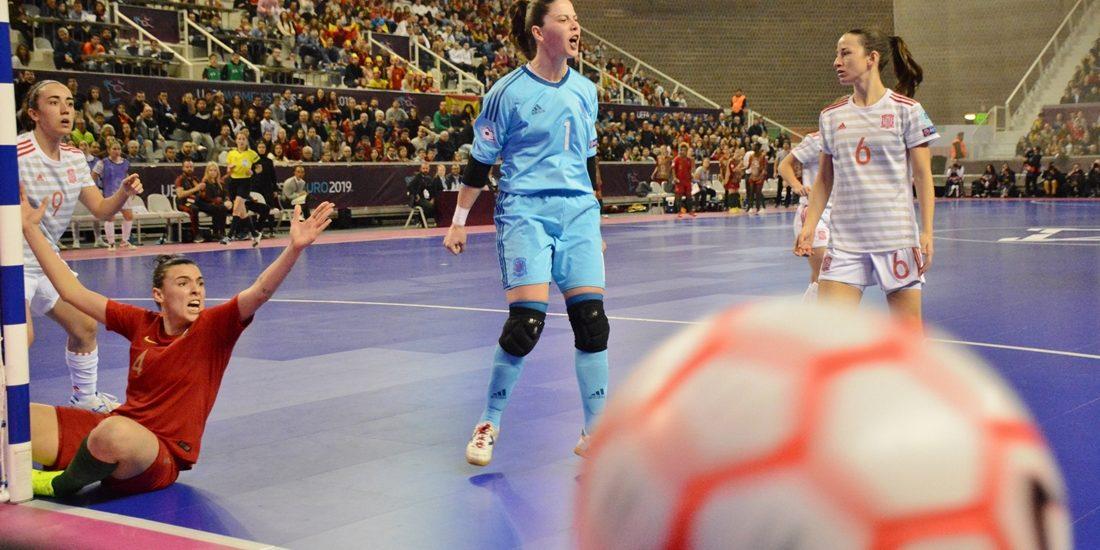 Espanha levou o ouro a Portugal na final do Europeu de Futsal