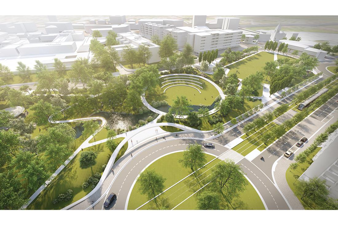 O novo centro de Gondomar será verde