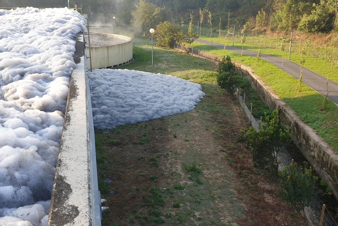 Rede de águas não descarregadas notificada às autoridades