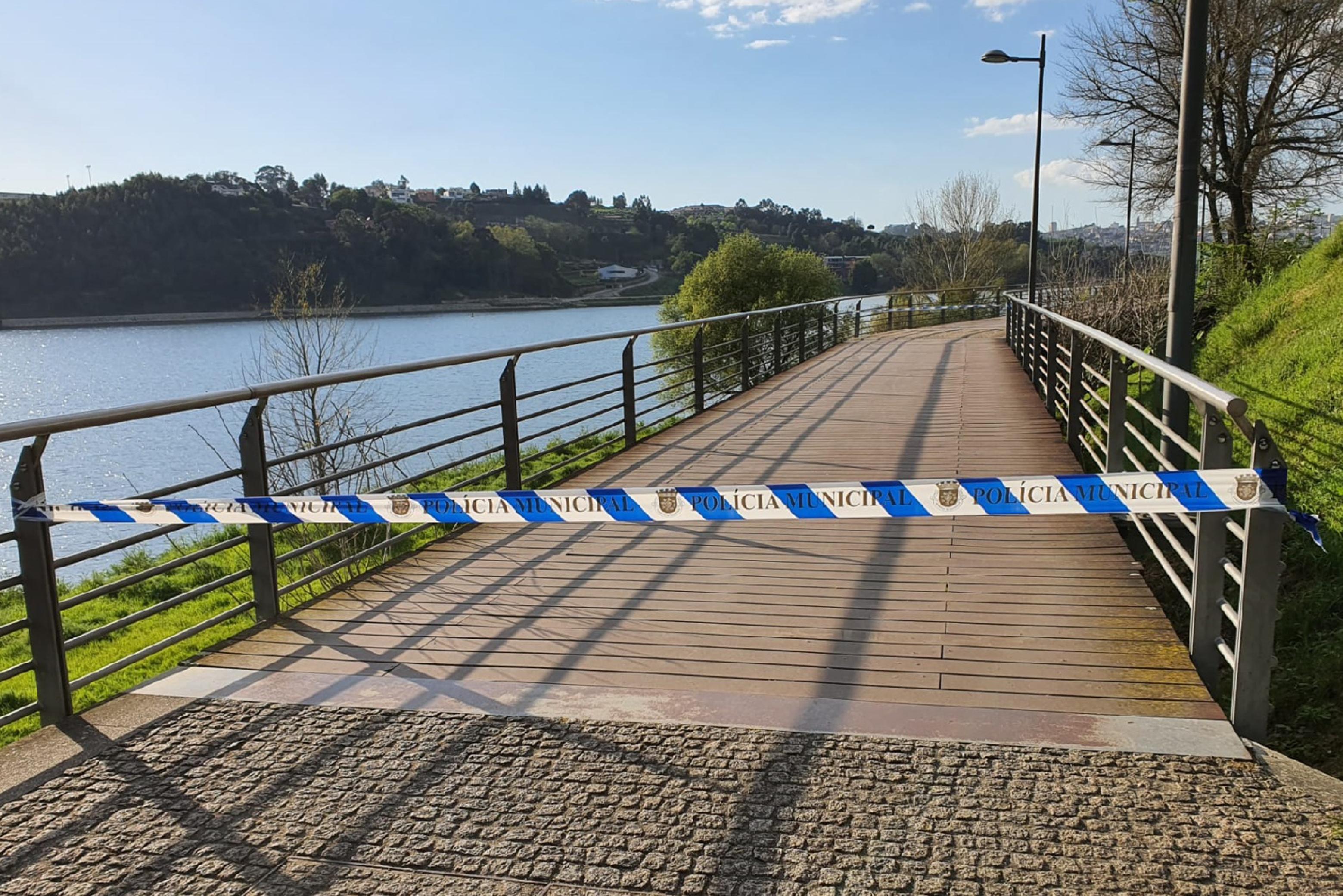 Passadiços de Gramido e Rio Tinto encerrados