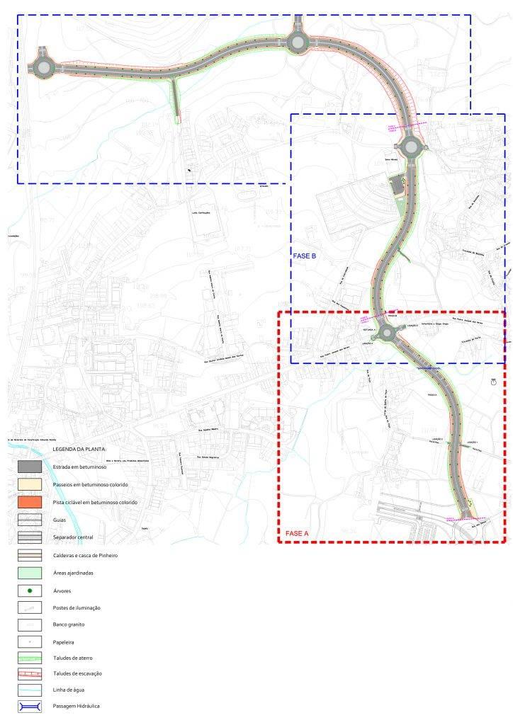 Adjudicada construção da Via Estruturante Norte-Sul 1