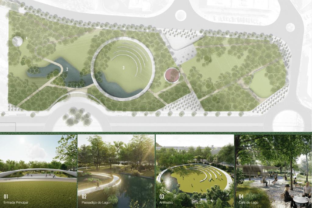 Aprovada a abertura de concurso para construção do Parque Urbano de Gondomar 2