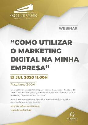 """Webinar: """"Como utilizar o marketing digital na minha empresa"""""""