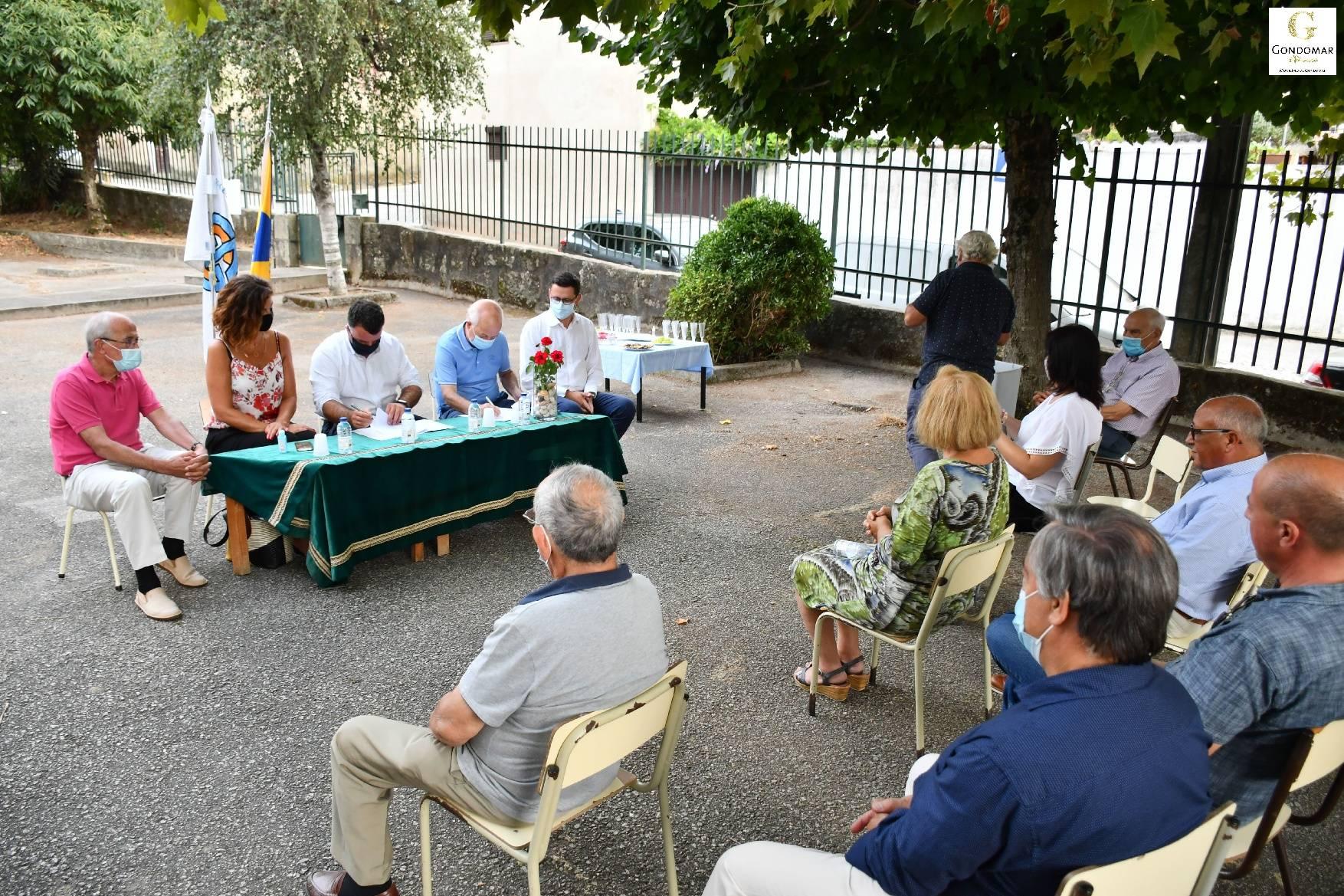 Assinado o Contrato de Comodato com a Federação das Colectividades do Concelho de Gondomar