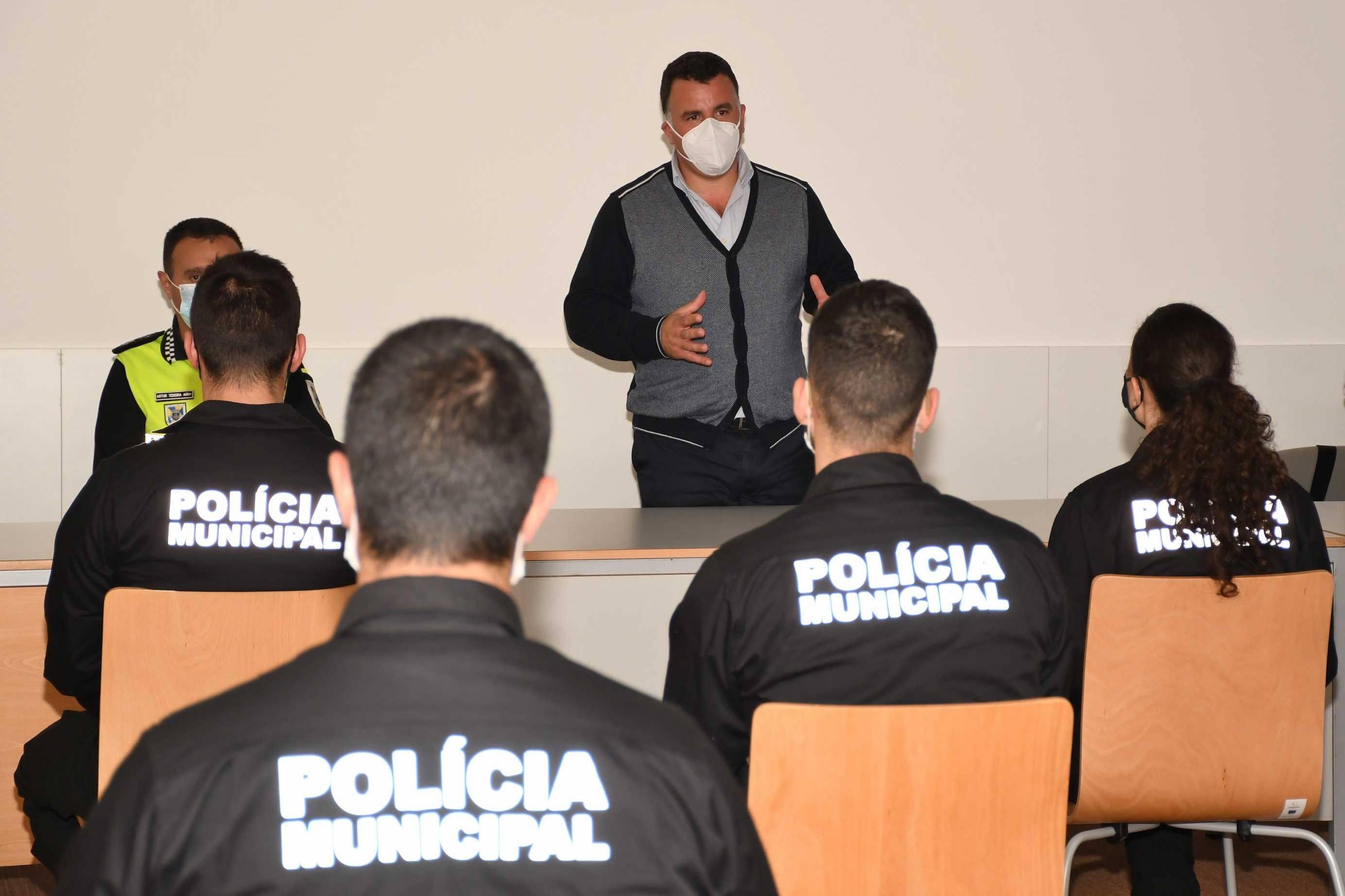 Reforço de novos agentes na Polícia Municipal