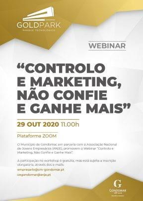 Webinar: Controlo e Marketing, Não Confie e Ganhe Mais