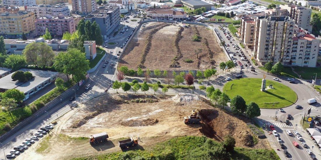 Arranca a obra do Parque Urbano de Gondomar