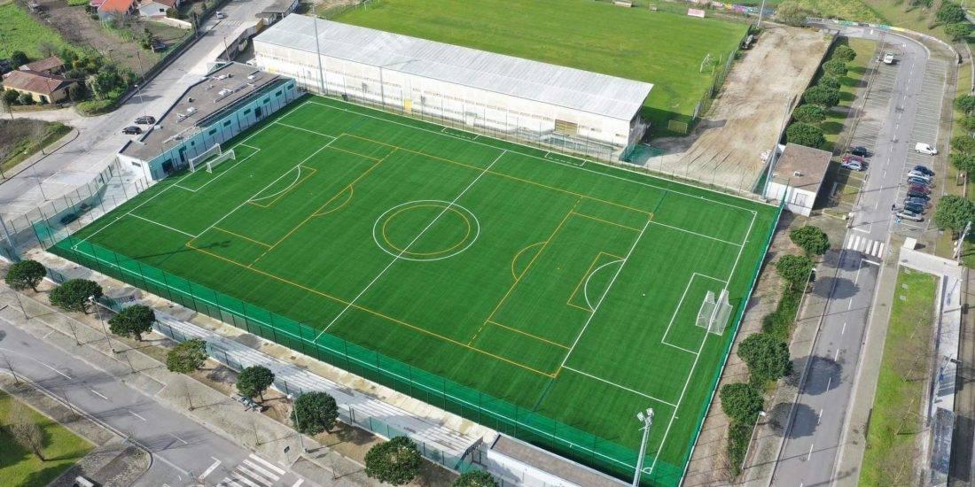 Concluída intervenção no Complexo Desportivo de Rio Tinto