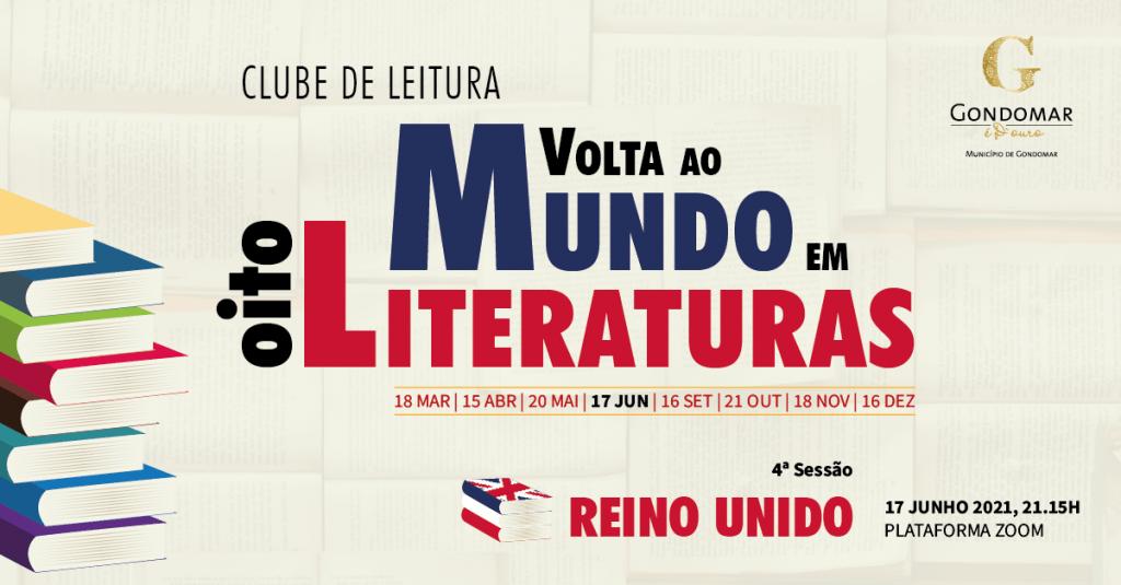 """Clube de Leitura """"Volta ao Mundo em Oito Literaturas"""" 6"""