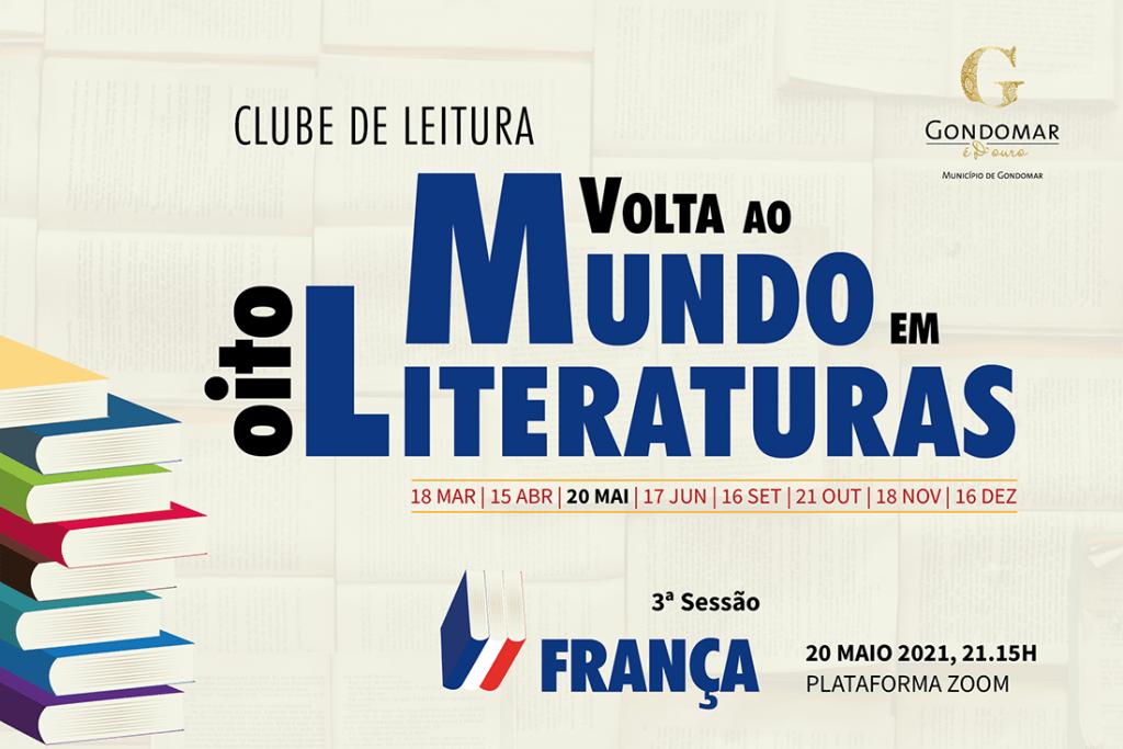 """Clube de Leitura """"Volta ao Mundo em Oito Literaturas"""" 3"""