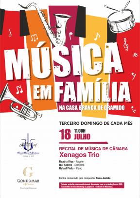 Música em Família – Xenagos Trio